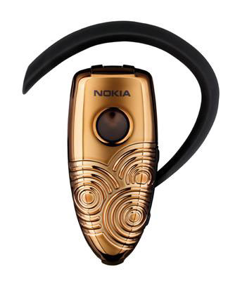 Nokia Bluetooth Headset BH-302 Circular Bronze